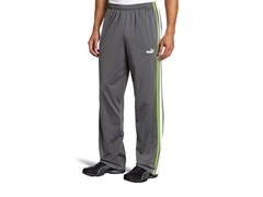 Men's Agile Track Pants - Grey (Small)