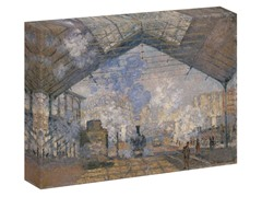 Monet The Saint-Lazare Station, 1877 (2 Sizes)