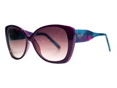 Tally Sunglasses, Purple Marble