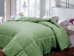Down Alternative Comforter-Sage-2 Sizes