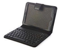 Bluetooth Keyboard iPad mini Folio-Black