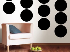 Black Jack Dot Decals - Set of 20