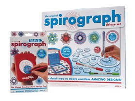 Spirograph Deluxe Set & Travel Bundle