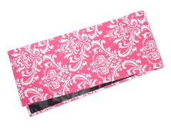 Large Damask Table Runner-Pink