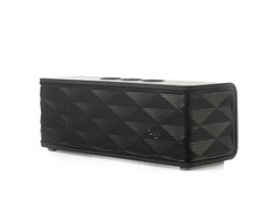 Bluetooth Stereo Speaker w/ Mic - Black