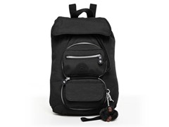 Alicia Foldable Medium Backpack, Black