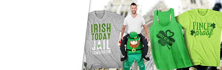 St. Patrick's Day Tees and Costumes