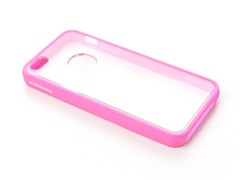 Pink Protective Bumper Case for iPhone 5