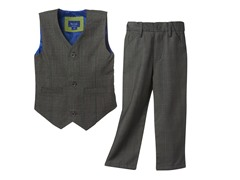 2-Piece Suit Set - Grey (3T-7)