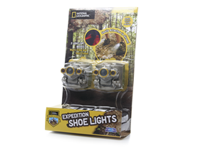 Uncle Milton Nat'l Geographic Shoe Light