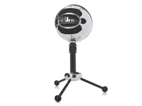 Snowball Microphone - Brushed Aluminum