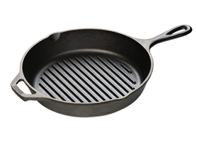 "Lodge 10-1/4"" Grill Pan"