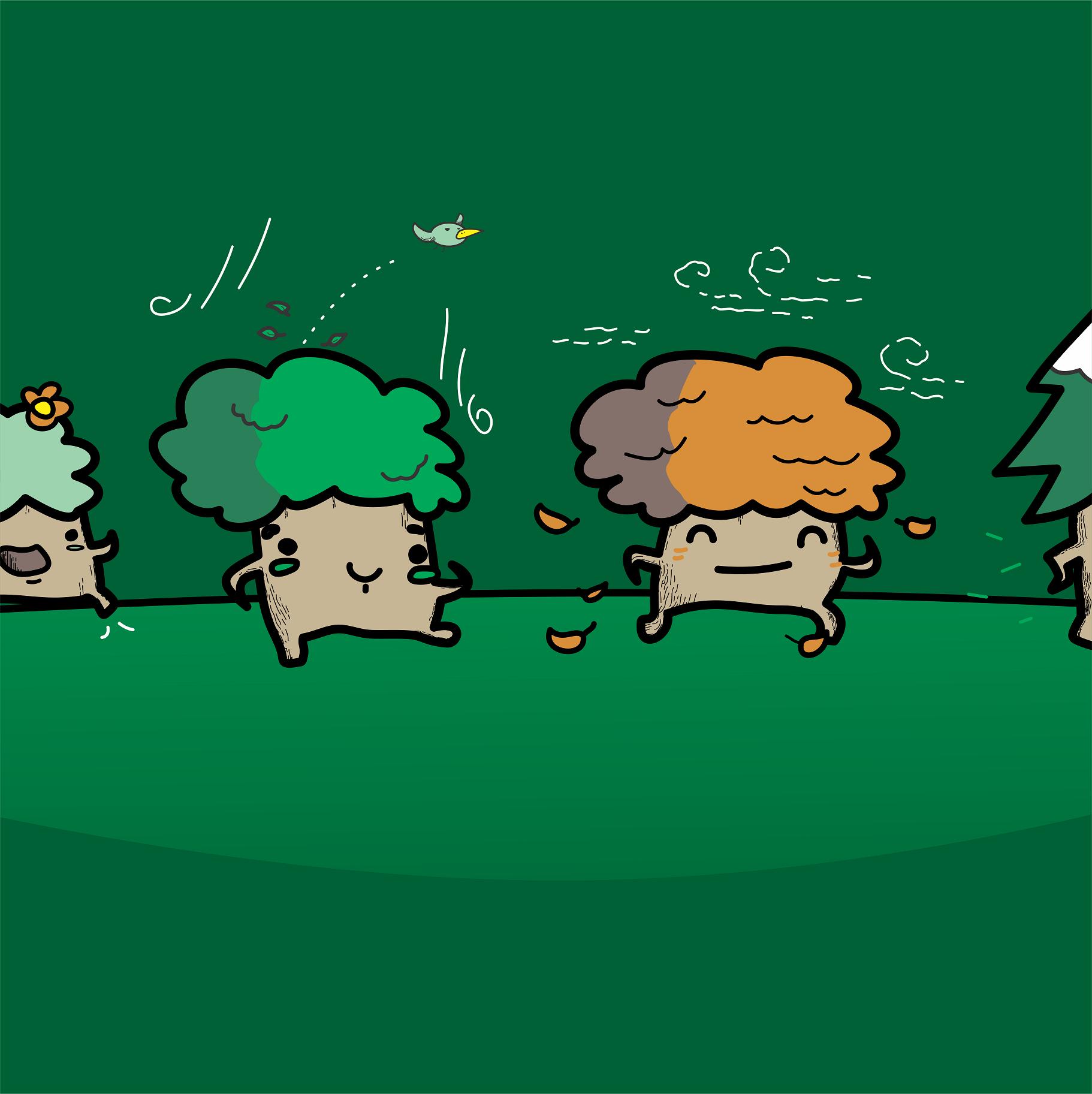 TREE PARADE!