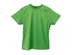 Boys Heathered Bright Tee - Grass Green