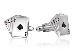 SD Man Aces Cufflinks