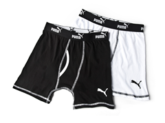 Black / White Boxer Brief - 2pk