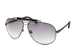 Women's Sunglasses, Gunmetal/Gray Gradient