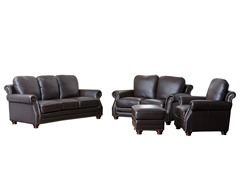 Rivoli 4 Piece Premium Leather Set