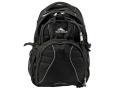 High Sierra 5453-0 Swerve Backpack, Black