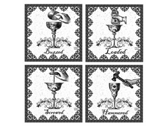 Thirstystone Drunk-Occasions Coaster S/4