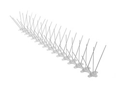 Stainless Bird Spikes, 6-Foot Box