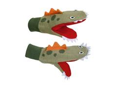 Dinosaur Knit Mittens (SM-LG)