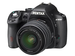 Pentax K-500 16.3MP DSLR Camera