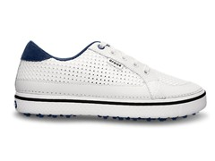 Drayden Golf Shoes - White/Navy
