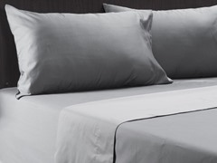 600TC Reversible Sheet Set-Grey-King