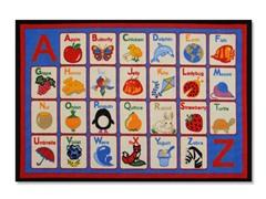 Alphabet Multi Rug