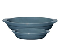 Emile Henry 2pc Oval Gratin Set-4 Colors