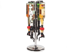 Oggi 4 Bottle Liquor Dispenser