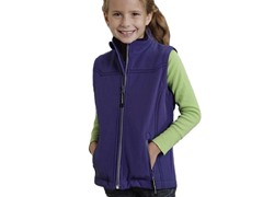 Purple Fleece Vest (XS-XL)