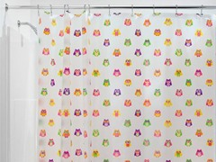 Interdesign Owlz Shower Curtain