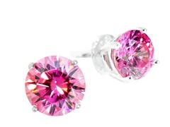 SS Pink 1cttw Earring