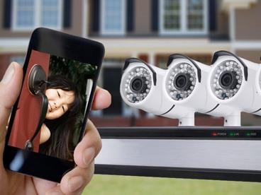 Uniden 4CH / 4Cam Surveillance System