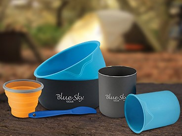 Camping Plates, Bowls, and Utensils