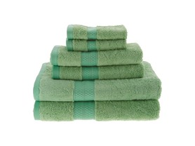 Superior 650GSM Rayon from Bamboo 6-Pc Towel Set