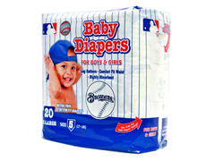 Milwaukee Brewers Diapers (160-192ct)