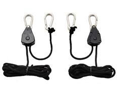 iPower Adjustable Grow Light Rope Hangers