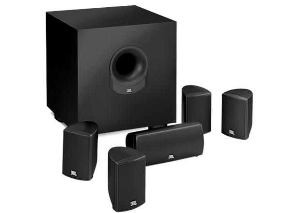 jbl 5 1 surround cinema speaker system. Black Bedroom Furniture Sets. Home Design Ideas