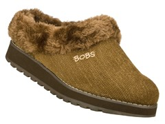 Skechers Women's Bobs Snuggle, Brown (5)