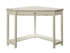 Homelegance Corner Desk - White