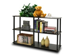 Turn n Tube 3-Tier Shelving Unit Esp/Black