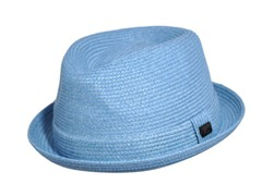 Bailey For Hollywood Billy Braided Hat, Pacific Blue