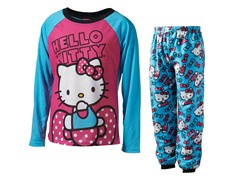 Hello Kitty Blue 2-Pc Set (4-10)