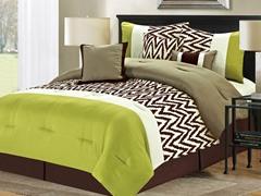7-Pc Bentley Comforter Set- Sage (Multiple Sizes)