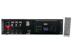 Professional PA Amplifier with DVD/MP3/USB