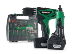 Hitachi Drill/Driver and Rotary Tool Kit
