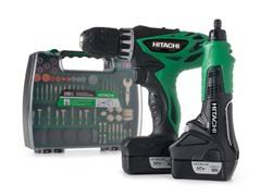 Hitachi Drill/Driver and Rotary Tool Kit